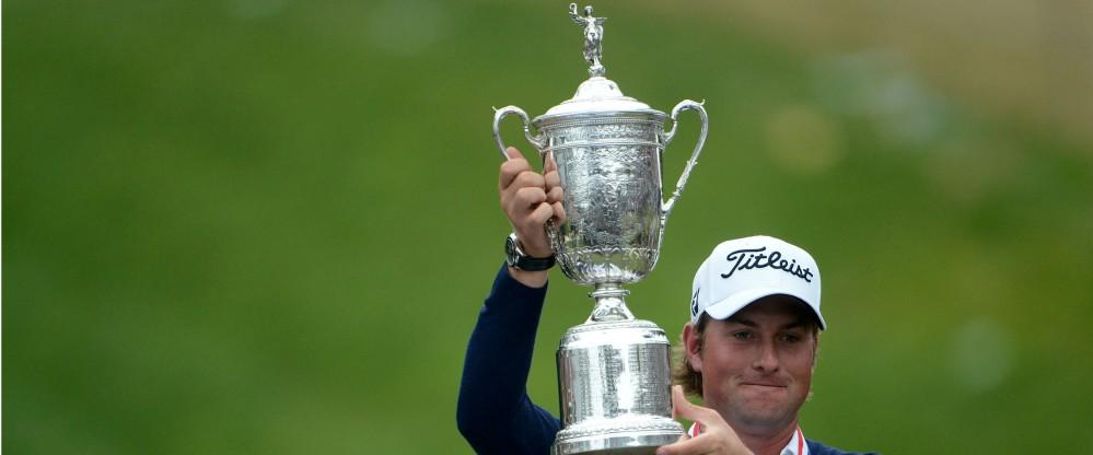 Bei einem Sieg der US Open nehmen die Sieger diese Trophäe mit nach Hause.