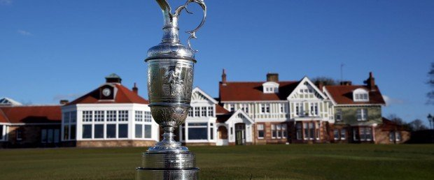 Die British Open 2013 in Muirfield: Es geht um die Claret Jug, die begehrteste Weinkaraffe unter Golfern. (Foto: Getty)