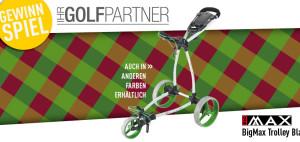 Golf Post verlost in dieser Woche zusammen mit IhrGolfpartner den BigMax Trolley Blade + (Foto:Golf Post)