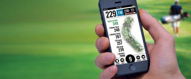 Die PGA TourCaddie App: Sie wertet jede eigene Golfrunde aus, wenn man bereit ist, dafür eine Emailadresse zu hinterlegen. (Foto: TOURCaddie)