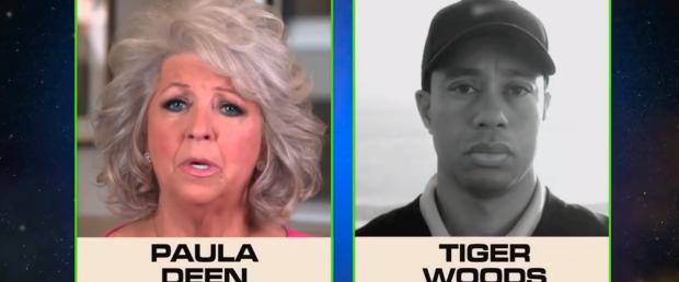 Fernsehköchin Paula Deen und Tiger Woods: Beide bereuen etwas. (Foto: Golf Post)