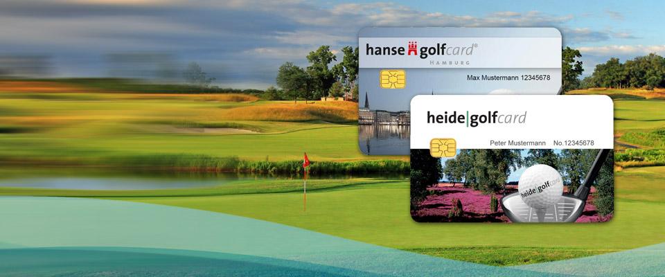 Heide Golf Card und Hanse Golf Card für Entdecker