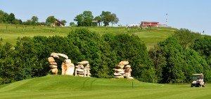 Feng Shui Golfplatz, Panorama Golf (Foto: S. Schöttl)