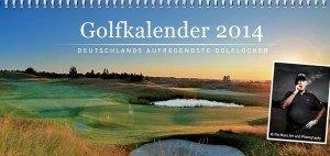 Der Golfkalender 2014 von Golf Post mit Jurymitglied Pio Mars