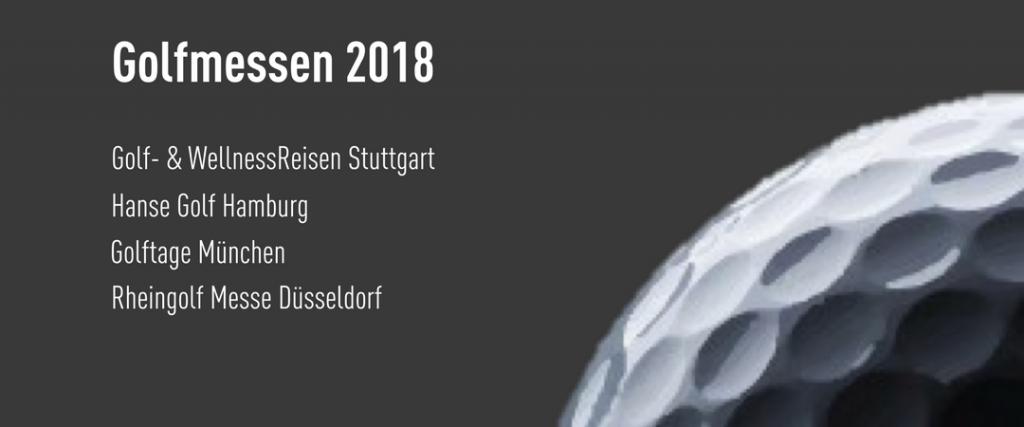 Alle Golfmessen 2018 im Überblick.