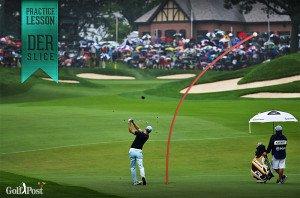 Martin Kaymer - eingezeichnet: Ein Slice. (Foto: Getty/Golf Post)