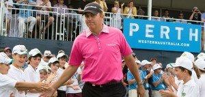 Vorjahressieger Bo Van Pelt wird in Perth gemeinsam mit Favorit Dustin Johnson abschlagen. (Foto: Getty)