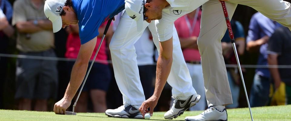 Rory McIlroy, der Sieger der Australian Open