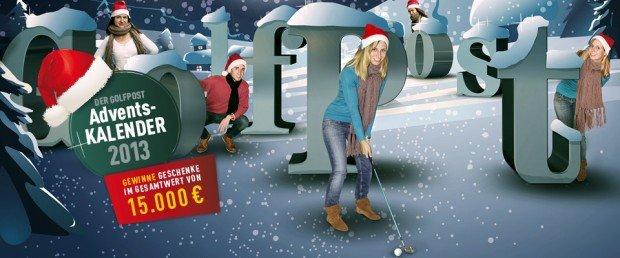 Der Golf Post Adventskalender. Alle Gewinner im Überblick (Foto: Golf Post)