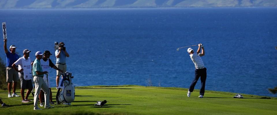 Jordan Spieth in Front auf Hawaii
