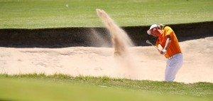 Als Vorjahressieger der Trophee Hassan II schlägt Marcel Siem bei der Volvo Golf Champions 2014 in Durban ab