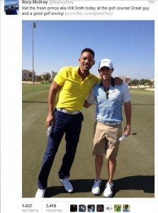 Rory McIlroy & Will Smith