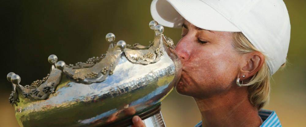 Karrie Webb siegte vor heimischer Kulisse bei der ISPS Handa Women's Australian Open