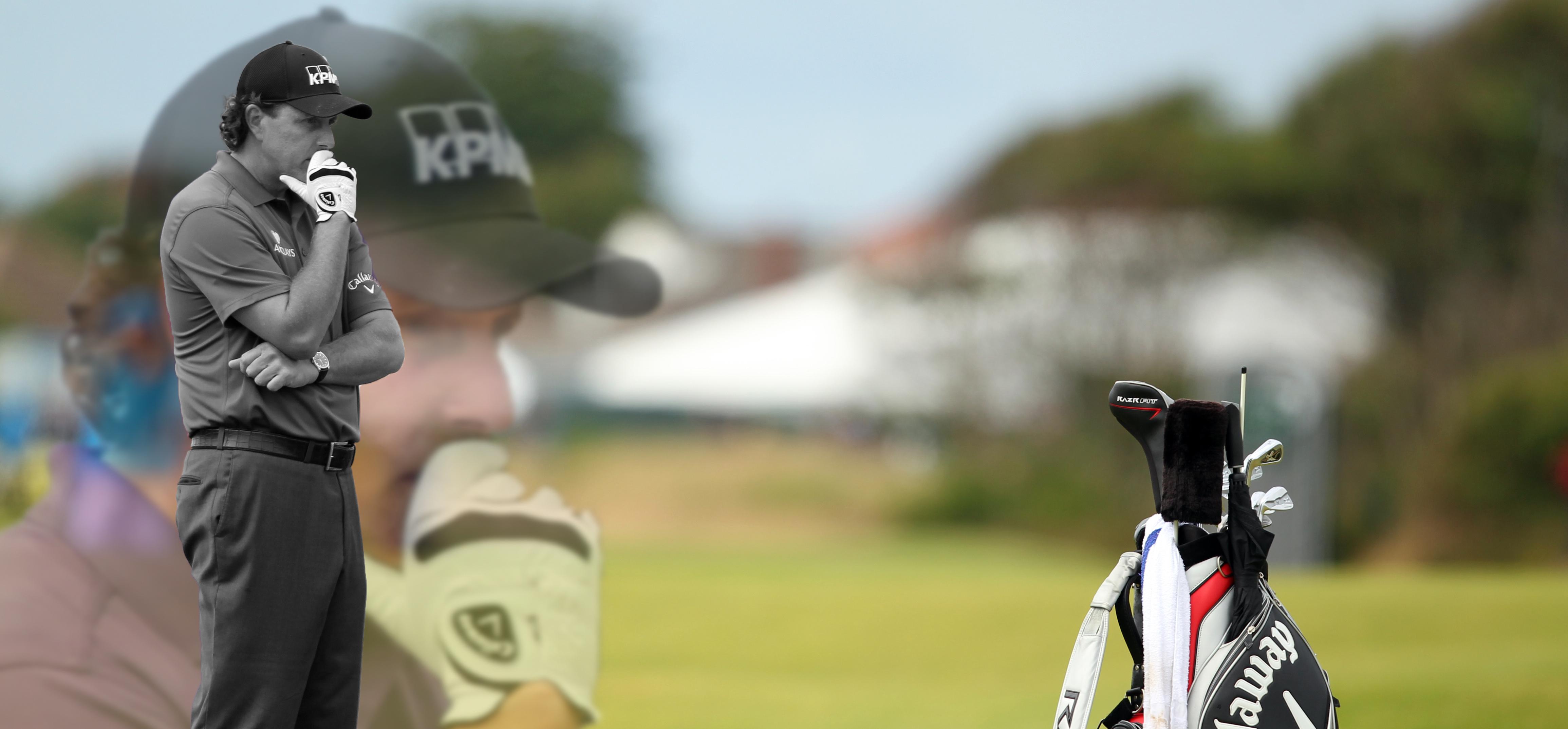 Phil Mickelson British Open 2012