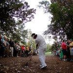 Bubba Watsons Zauberschlag beim Masters 2012- (Foto: Getty)