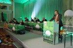 DGV-Präsident Nothelfer beim letzten Verbandstag im April 2014. Die nächste Vollversammlung folgt am 29. November. (Foto: DGV)
