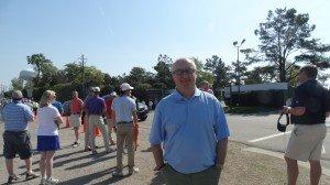 Mark Hargreaves aus Manchester: Glücklicher Ticket-Besitzer. (Foto: Golf Post)