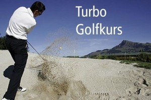 Angebot Turbo Golfkurs