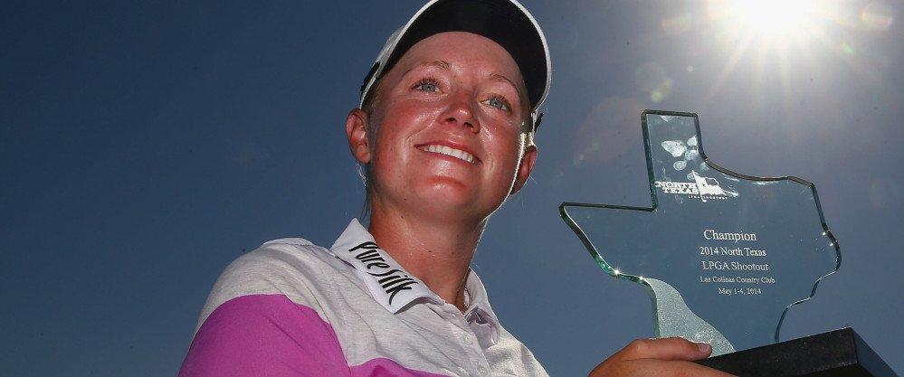 Stacy Lewis sicherte sich beim North Texas LPGA Shootout ihren ersten Sieg der Saison.