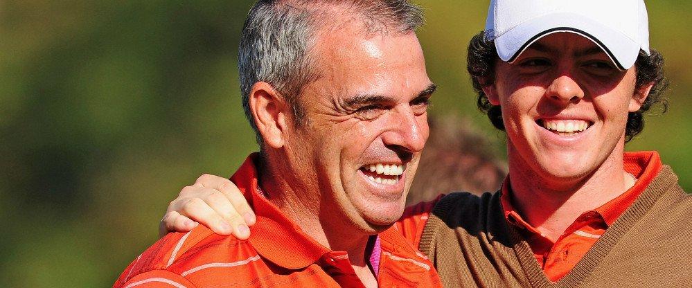 Paul McGinley setzt als Kapitän des Teams Europa beim Ryder Cup auf Rory McIlroy und Henrik Stenson als Stützen der Mannschaft.