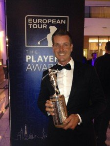 Henrik Stenson erhält Harry Vardon Trophy (Foto: Facebook)