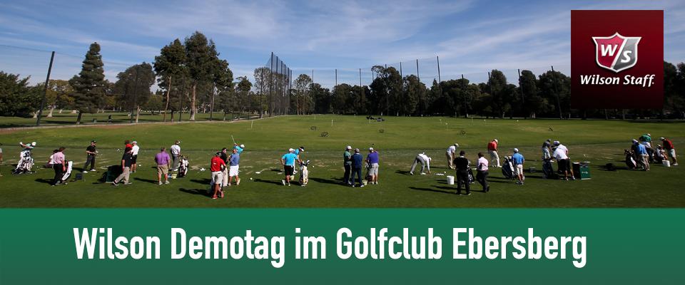 Golf Club Ebersberg mit Wilson Golf Demotag am 16. Mai 2014