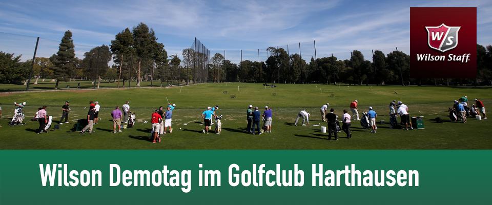 Golfanlage Harthausen mit Wilson Golf Demotag am 11.Mai 2014