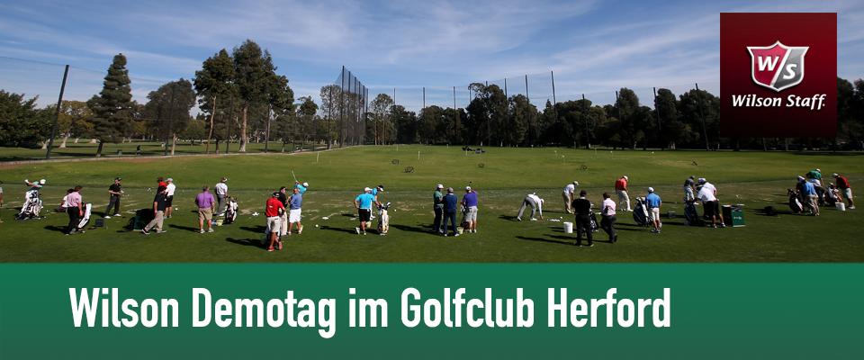 Golf Club Herford mit Wilson Golf Demotag am 11. Mai 2014