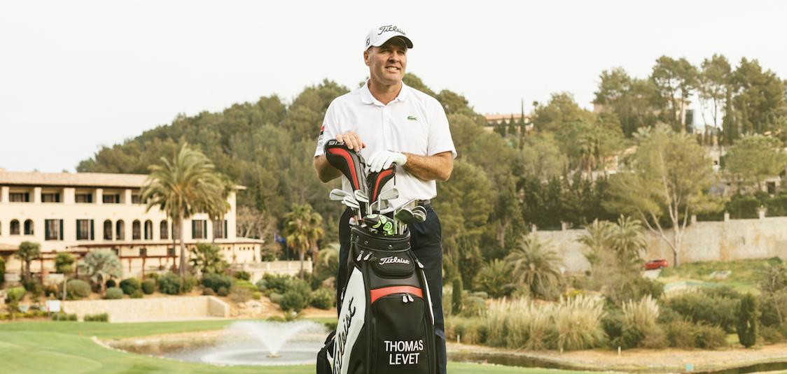 Golf Clinic mit Golf Profi Thomas Levet