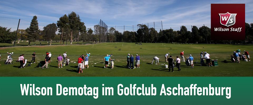 Golfclub Aschaffenburg mit Wilson Golf Demotag am 10.Mai 2014