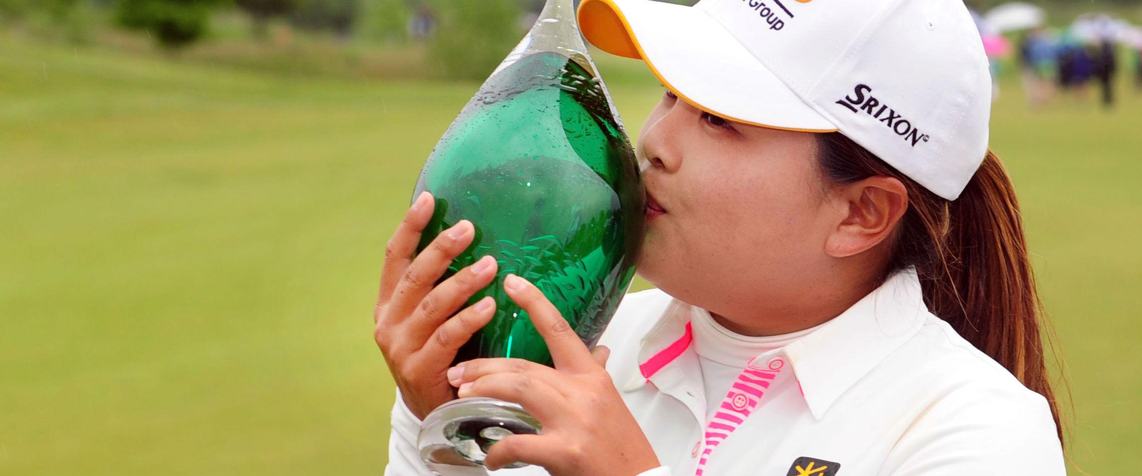 Inbee Park sicherte sich überlegen den Titel bei der Manulife Financial LPGA Classic.