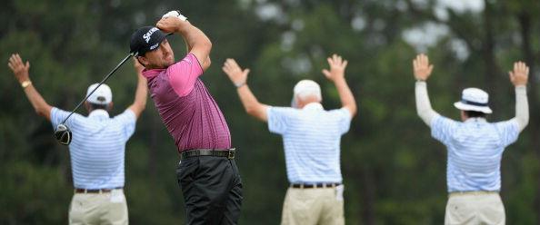Graeme McDowell auf der ersten Runde der US Open.