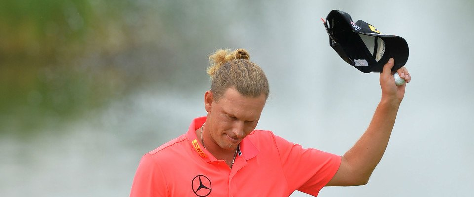 Marcel Siem bei der BMW International Open 2014