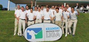 Gute Stimmung am 2. Spieltag der Kramski DGL in Hubbelrath @DGV