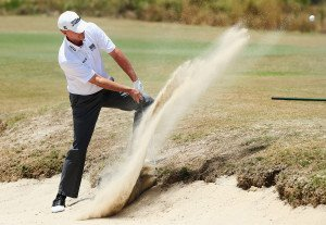 Steve Stricker am Strand. (Foto: Getty)