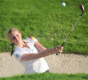 Olivia Cowan vom GC St. Leon-Rot ist ebenfalls bei der Golf-Premiere für Olympia dabei.
