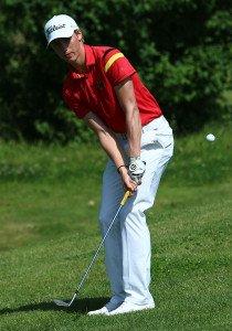 Jonas Liebich von GC Olching startet für Deutschland im Golf bei den 2. Olympischen Jugendspielen.