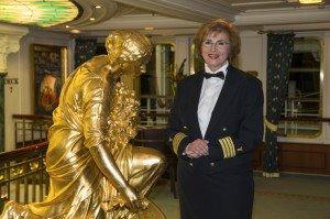 Neue Kreuzfahrt-Direktorin wird Heidrun von Gossel. (Foto: Reederei Deilmann)