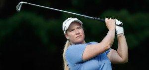 Brittany Lincicome führt nach dem zweiten Tag der LPGA Championship. (Foto: Getty)