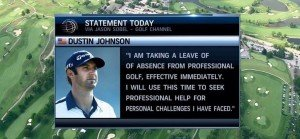 Auszüge aus dem Statement von Dustin Johnson. (Foto: Twitter - @SligoEurope)
