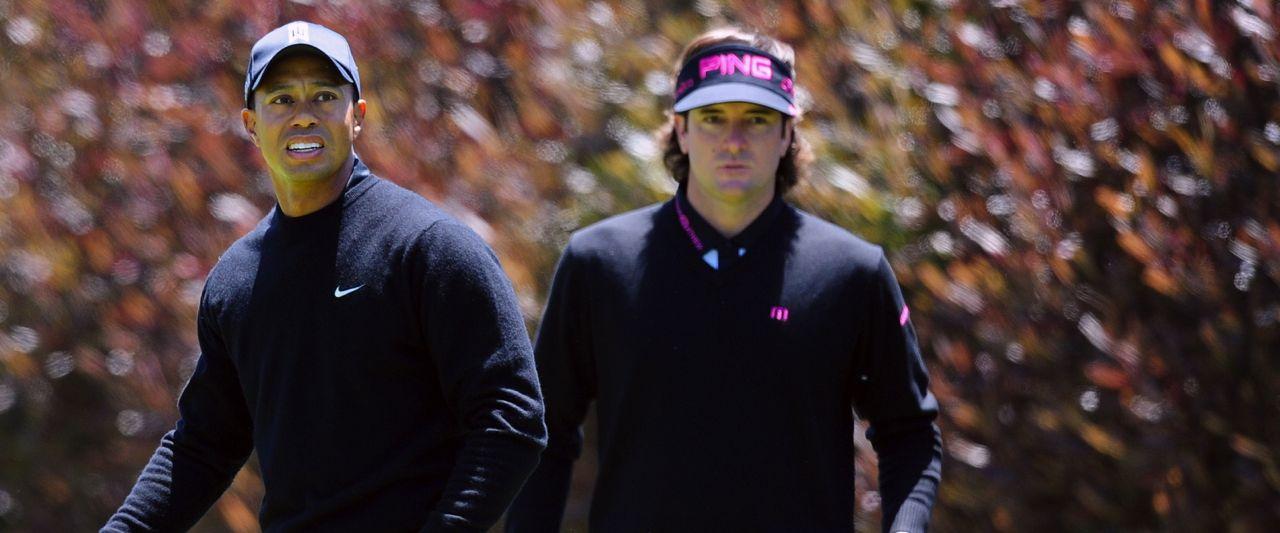Tiger Woods und Bubba Watson - Golf Post