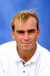 Thomas Björn bei der Challenge Tour 1996. (Foto: Getty)