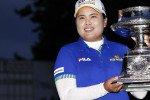 Inbee Park ist die strahlende Siegerin der LPGA Championship 2014. Sie konnte sich im Stechen gegen die US-Amerikanerin Brittany Lincicome durchsetzen. (Foto: Getty)