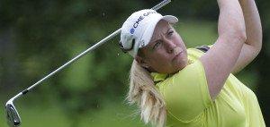 Die US-Amerikanerin Brittany Lincicome steht am Moving Day der LPGA Championship auf dem ersten Rang mit -10. In Suzann Pettersen und Inbee Park findet sie jedoch starke Verfolgerinnen. (Foto: Getty)