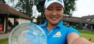 In einem spannenden Stechen konnte sich die Südkoreanerin Mi Rim Lee gegen ihre Landsmännin Inbee Park durchsetzen und gewinnt somit die Meijer LPGA Classic in Michigan. (Foto: Getty)