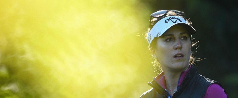 Sandra Gal bei der Evian Championship 2014