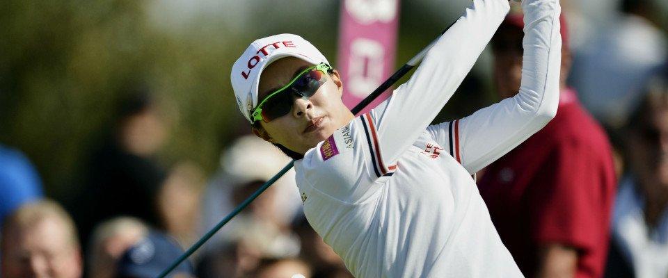 Hyo Joo Kim bei der Evian Championship 2014