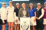 """Mit prominenter Besetzung wird das """"One year to go""""-Event im Golfclub St. Leon-Rot begangen."""