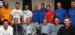Sir Alex Ferguson mit dem europäischen Ryder Cup Team. (Foto: Getty)