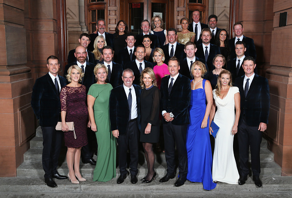 Team Europa vor dem Gala Dinner. (Foto: Getty)